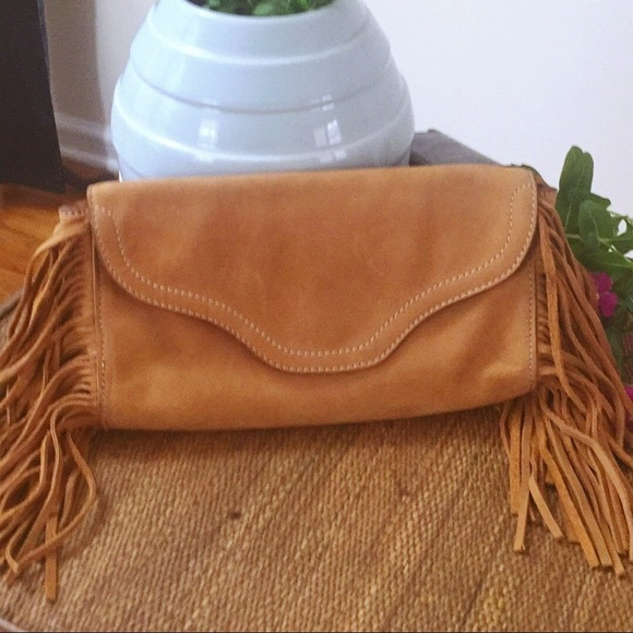 0ef81df87e2 Rugby Ralph Lauren Bags   Ralph Lauren Rugby Fringed Clutch   Poshmark